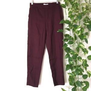 NWOT H&M high waisted ankle pants (size 4)